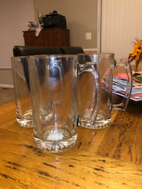 Large glass beer mugs Dumfries, 22025