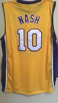 Adidas large Lakers Steve Nash jersey