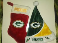 Packers Christmas stocking and hat Watertown, 53094