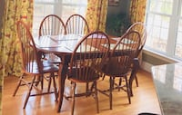 Kitchen table with six chairs GLENALLEN