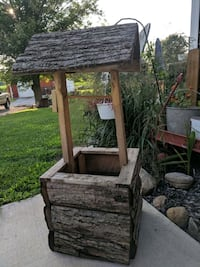 Rustic wishing well 49240, 49240
