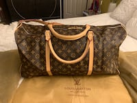 Lv Louis Vuitton LV Brown Duffle Bag 1:1 Exact  North Vancouver, V7J 3M9