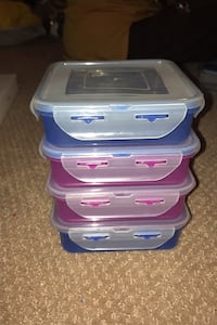 Plastic Conatiners for lunch box ($3 for 4)