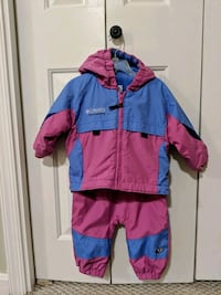 Girls Snow Suit: Columbia, Size 18 months Sterling, 20166