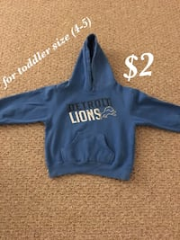 blue and white Aeropostale pullover hoodie Detroit, 48228