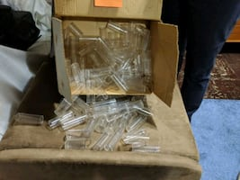 Box of plastic collection tubes