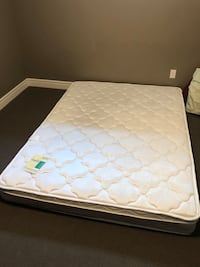 New never used queen mattress with warranty  St Albert, T8N 1C2