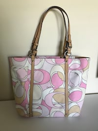 Authentic Pink Coach Tote Bag Coquitlam, V3C
