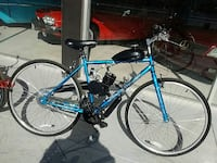 blue and black motorized bicycle Mesa, 85201