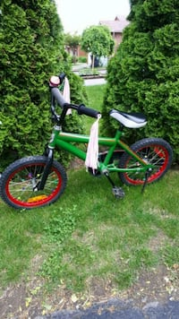 toddler's green and white bicycle Toronto, M1X 1G9