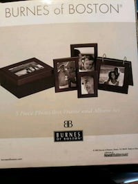 black wooden photo frame with box Cheverly, 20785