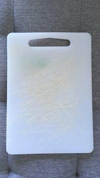rectangular white chopping board Vancouver, V5T 0A7