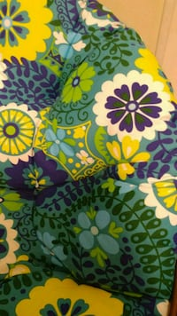 white, green, and blue floral textile Springfield, 22153