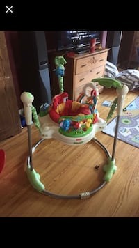 baby's white and green jumperoo Thames Centre, N0L 2B0