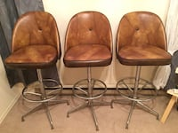 Leather Bar stools Kitchener, N2C