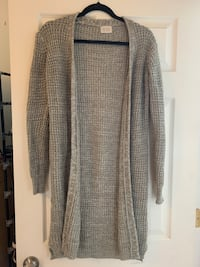 Gray cardigan (womens) pure rebel