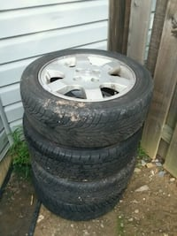 Four brandnew Nissan rims with tires Frederick, 21703