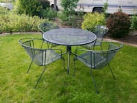Wrought Iron Table And Chairs  Reno, 89523