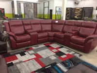 Brand new powered LED reclining sectional  Council Bluffs, 51501