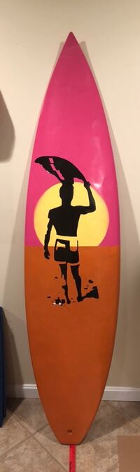 6'2 Custom Painted Surfboards