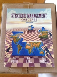 Strategic Management Concepts third edition book