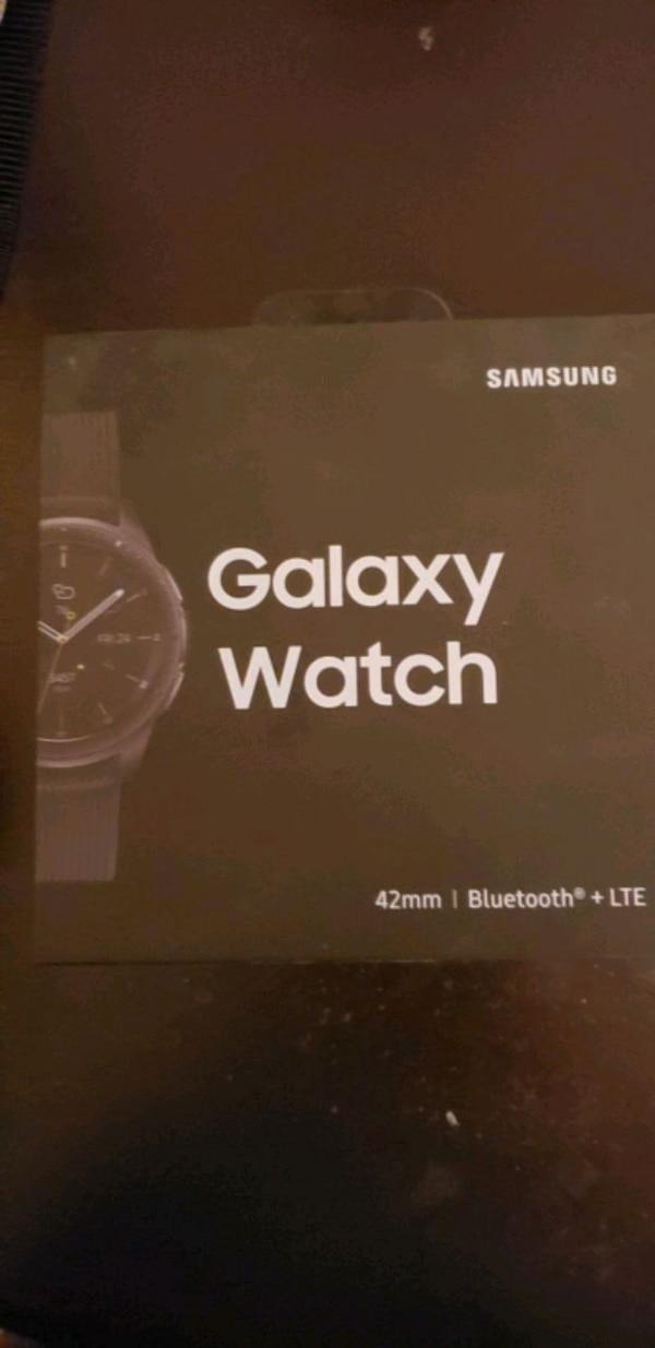 SAMSUNG GALAXY WATCH (42MM) MIDNIGHT BLACK (LTE) 1