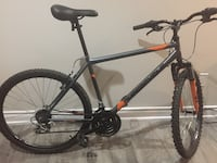 black and red hardtail mountain bike Toronto, M6P 1S4