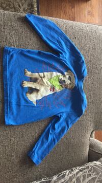 blue long-sleeve shirt with dog print Maryville, 37804
