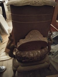 Parlor Stove (With natural gas hookup)