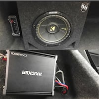 10 inch Kicker Subwoofer And Amplifier Columbia, 21044