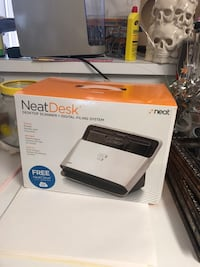 Neat desk stores all your receipts files and paper work on to devices  Kennesaw, 30144