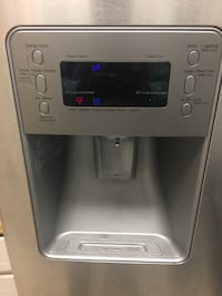 Stainless steel french door refrigerator Dallas, 75223