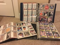 Hundreds of baseball cards, collector's mini helmets, binders and more! Annandale, 22312