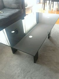 Black glass table Mississauga, L5A