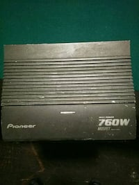 Pioneer 760w amp Milwaukee, 53216