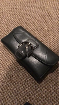 Black coach wallet Albany, 12208
