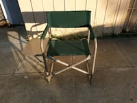 Outdoor director folding chair Milpitas, 95035