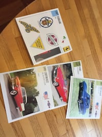 Collectors cards cars of the 60's Complete Set Madison, 06443