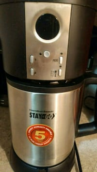 Stay or go coffee pot