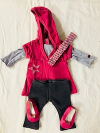 Retired 2008 American Girl Star Hoodie Outfit Long Grove, 60047