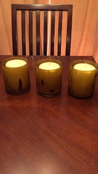 Candleholders (3)  with candles Orland Park, 60462