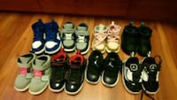 toddler's assorted pairs of shoes Brampton, L6X 3M7