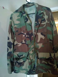 green, brown, and black camouflage jacket Warner Robins, 31088
