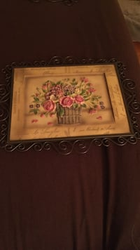 Wall hanging flower picture painted Mechanicsburg, 17055