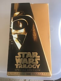 Star Wars Special Edition 3 movie boxed set