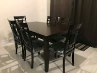 dining table with 6 chairs  Kitchener