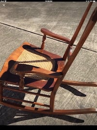 Antique Cane Seat Rocking Chair .( Reduced fro $55) Houston, 77055