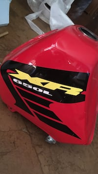 red, black and yellow XR 650L gas tank Citrus Heights, 95610