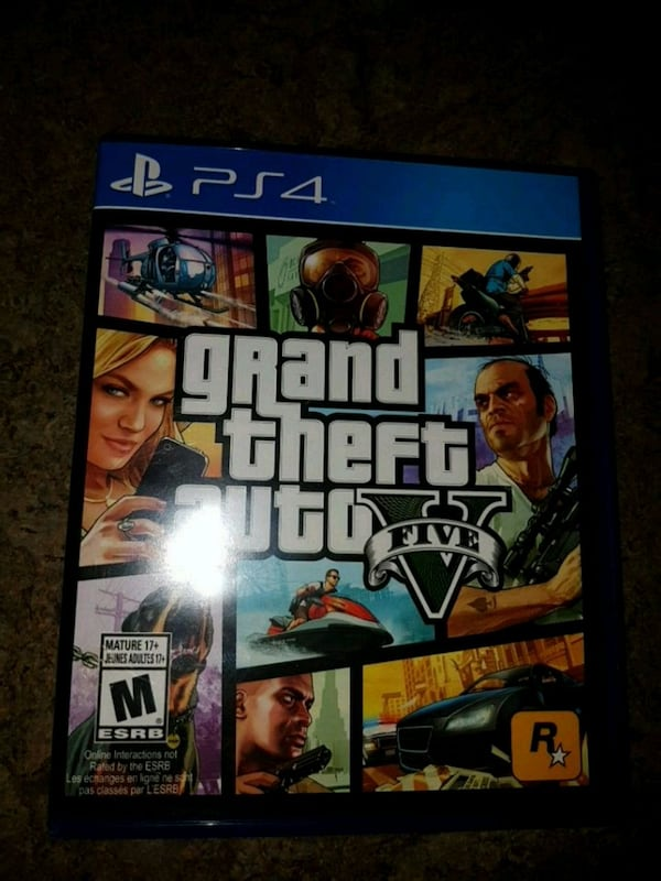 GTA 5 for PS4 (Excellent Condition!) 9f471d31-8062-4862-bc50-92daa140a2d1