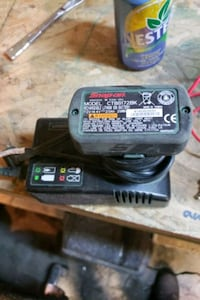 Snap-on battery charger and Battery